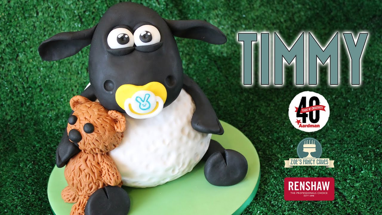 Timmy The Sheep 3d Cake From Shaun The Sheep And Timmy Time Youtube