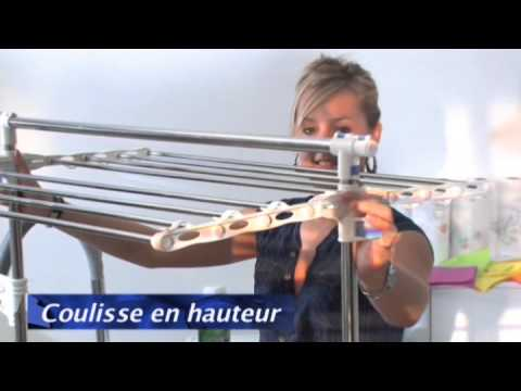 S choir magnum etendage linge nouvelle g n ration youtube - Seche linge sous etendoir ...