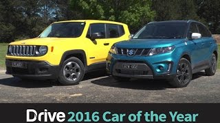 Suzuki Vitara v Jeep Renegade | 2016 Best City SUV