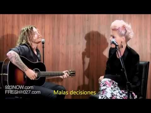 P!nk - Fuckin' Perfect LIVE Subtitulado En Español