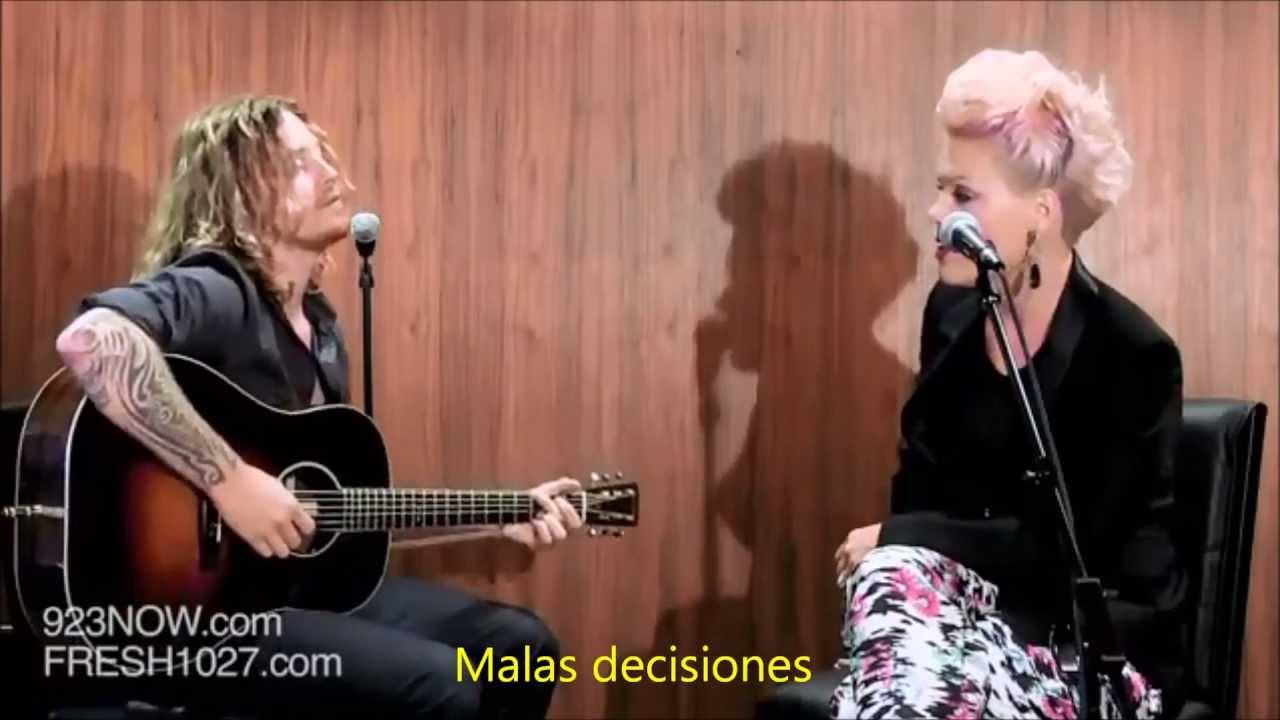 Download P!nk - Fuckin' perfect LIVE subtitulado en español