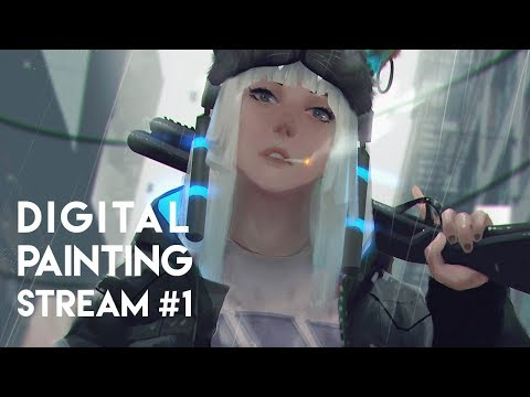 Digital Painting Stream #1 Part.1