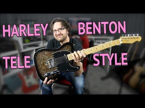 Harley Benton TE 70 Telecaster Style Guitar Review