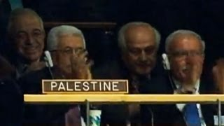 Palestine celebrates UN vote recognition
