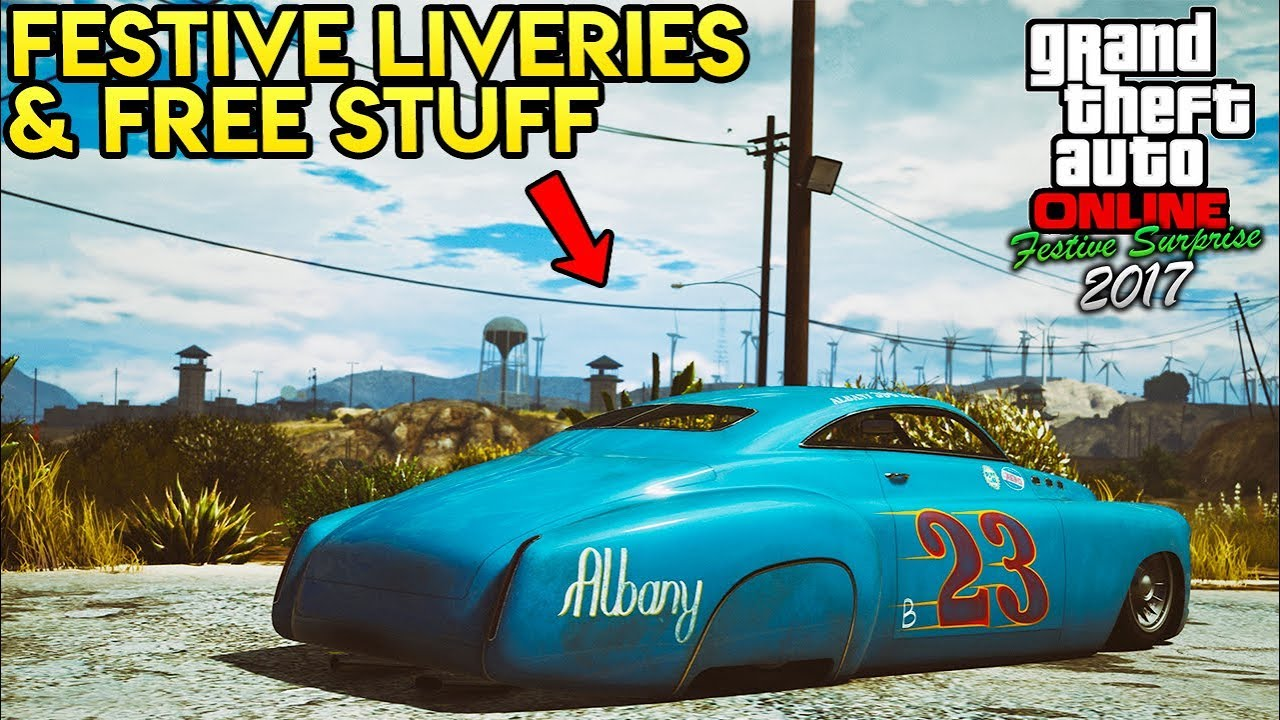 GTA Online: FREE CHRISTMAS GIFTS + NEW FESTIVE LIVERIES FOR TONS OF ...