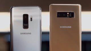 Взять Galaxy S9+, Note 8 или ждать Note 9?