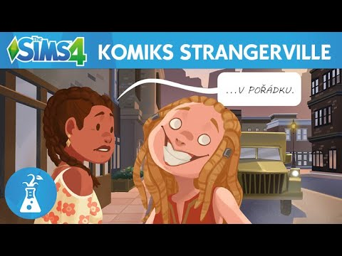 The Sims 4™ StrangerVille: oficiální pohyblivý komiks thumbnail