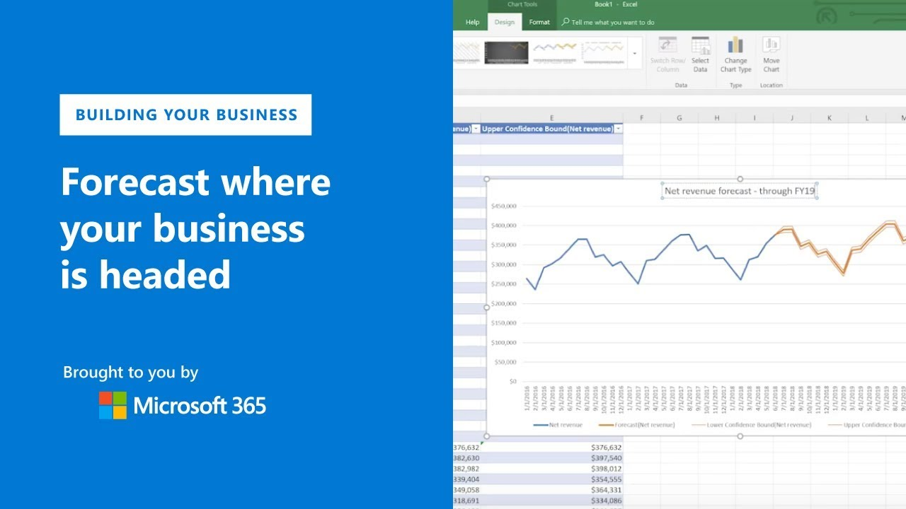 Build your business financial forecast with Microsoft Excel