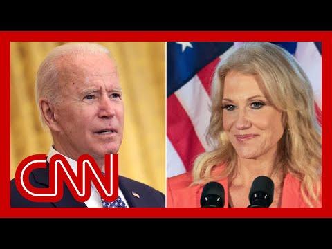 Kellyanne Conway fires back after Biden administration asks her to resign