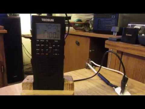 AM Radio long wire antenna.