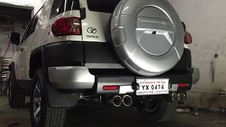 Toyota FJ Cruiser exhaust