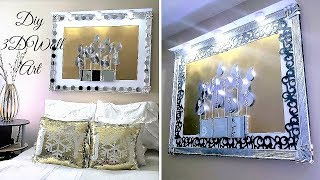 Diy Wall Decor from Trash to Treasure| Home Decor ideas for less