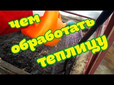 ОБРАБОТКА ТЕПЛИЦЫ ВЕСНОЙ/безопасный метод обработки теплицы/дезинфекция почвы