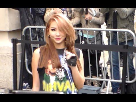 CL 2NE1 Lee Chae-rin 이채린 @ Paris 8 july 2014 Fashion Week Chanel Show