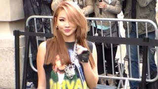 CL 2NE1 Lee Chae-rin 이채린 @ Paris 8 july 2014 Fashion Week Chanel Show