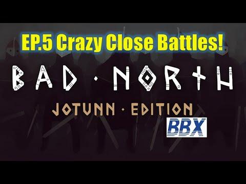 Bad North: Jotunn Edition | EP5 Crazy Close Battles! |