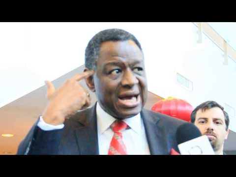 Interview (ENG). Babatunde Osotimehin answers about importance of youth's agenda in the ICPD
