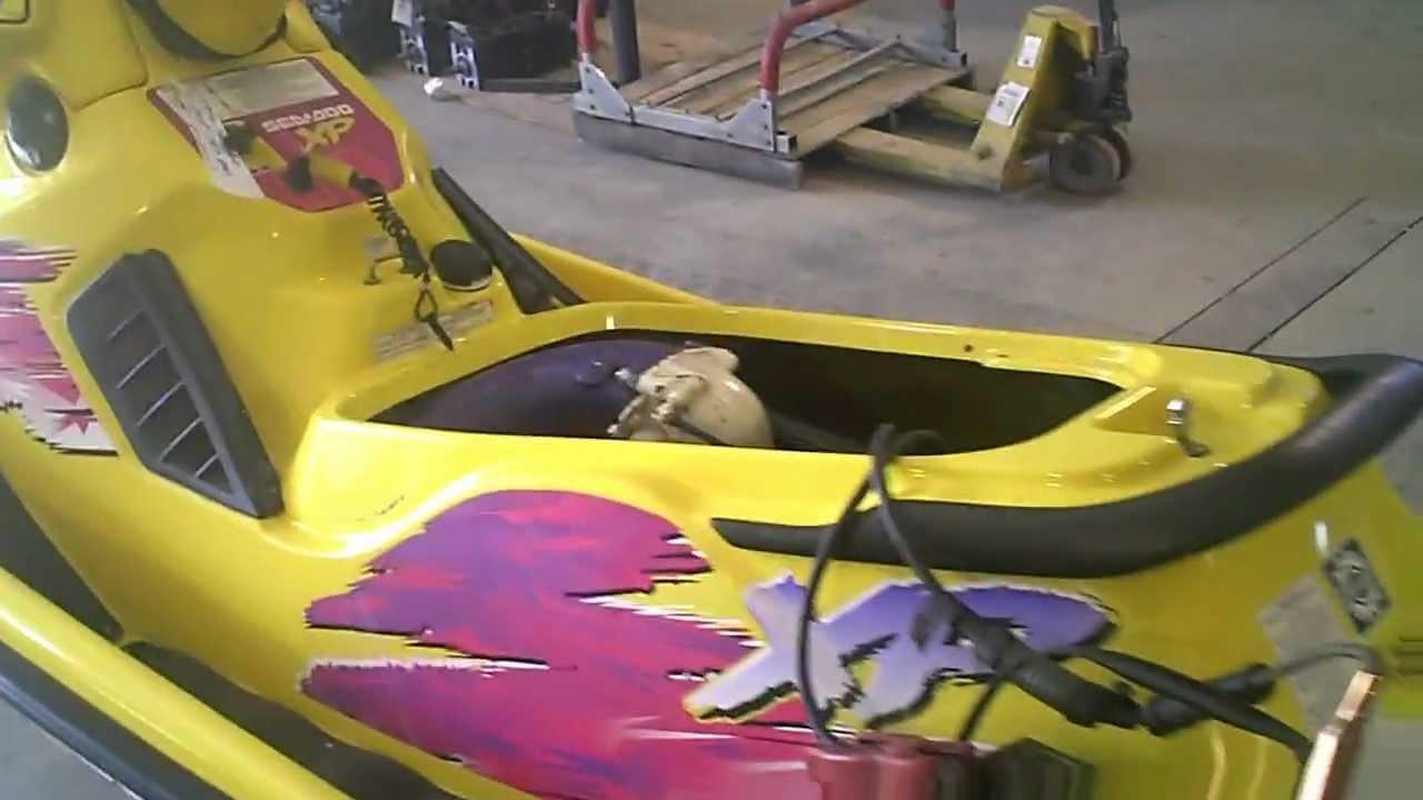 Lot 1423a Running 1996 Sea Doo Xp 787 800 Jet Ski