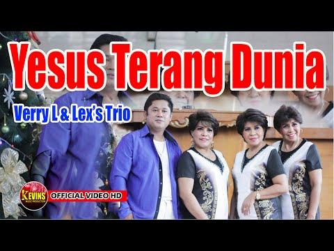 LAGU NATAL -YESUS TERANG DUNIA - VERRY LAHAMENDU & LEX'S TRIO - KEVINS MUSIC PRO