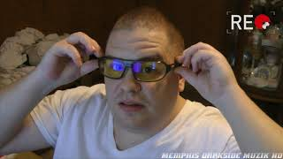gunnar Optiks Trooper Computer Glasses Smoke/Amber (TRO-06701) Unboxing  Review  Outtakes 1080p