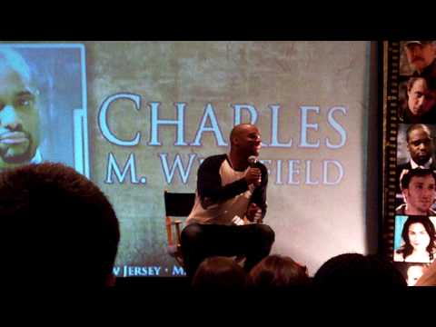 Charles Malik Whitfield Supernatural Con  About Being a Ghost