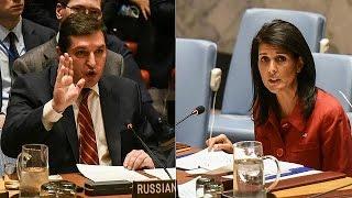Дебаты на экстренном заседании Совбеза ООН