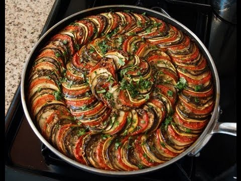 La plus belle ratatouille bruno albouze the real deal for Cuisine americaine film youtube
