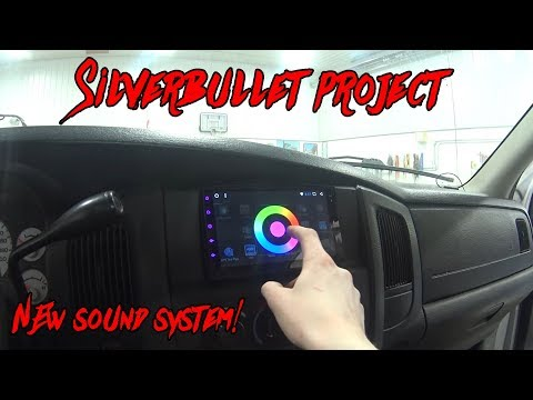2004 Dodge Ram 1500 - New Sound System (Silverbullet Project)