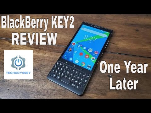 BlackBerry KEY2 Review - One Year Later and Still Fantastic!