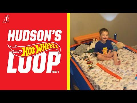 Hudson's Loop: Hudson and his COOL @Hot Wheels Bed