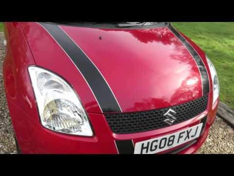2008 Suzuki Swift 1.5 GLX. (Low mileage with Full Service History).