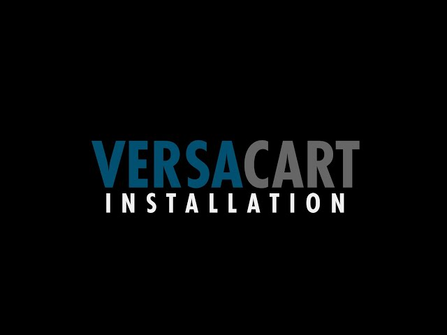 Step 8: Install VersaCart in front of CNC