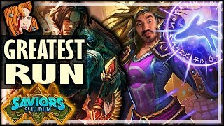 THE GREATEST RUN THIS EXPANSION - Hearthstone Arena