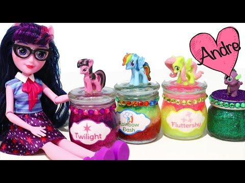 Slime de My Little Pony y nuevas muñecas de Equestria Girls - Juguetes con Andre