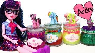 Slime de My Little Pony y nuevas muñecas de Equestria Girls - Juguetes con Andre thumbnail