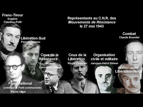 Une histoire du Conseil National de la Résistance (CNR)