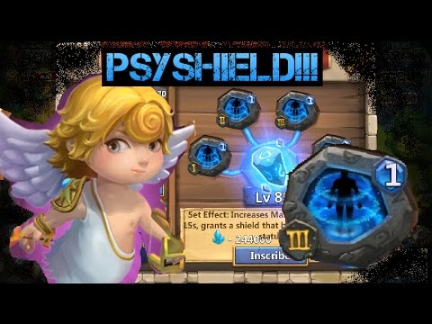 Castle Clash: PsyShield Crest, LvL 22 LR, Top 20 Arena, And K.o.D!!!!