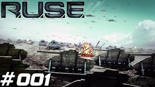 Let's Play R.U.S.E. #001 Willkommen Mr.Sheridan [German; HD]