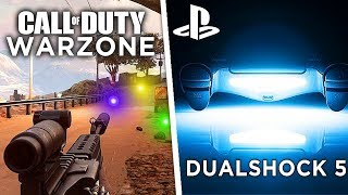 PS5 CONTROLLER FEATURES REVEAL, NEW Gameplay Leaks 😲 (Modern Warfare Battle Royale) - Warzone