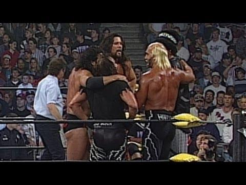 Team WCW vs. Team n.W.o. vs. Team Piper - Elimination