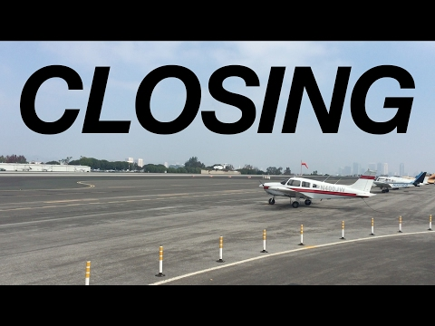 Santa Monica Airport closing?
