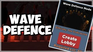 NEW WAVE DEFENCE GAME MODE! (UPDATE) Roblox Dungeon Quest