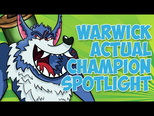 Warwick ACTUAL Champion Spotlight