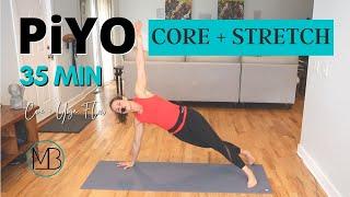 35 MIN PiYO Core Strength | Yoga Flow | 20 MIN Of ABS | Low-Impact