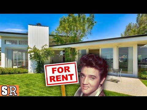 Elvis Presley's Beverly Hills House Tour