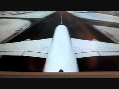 LH710: Lufthansa Airbus A380 - Takeoff from Frankfurt with nice engine sound (Tail camera)