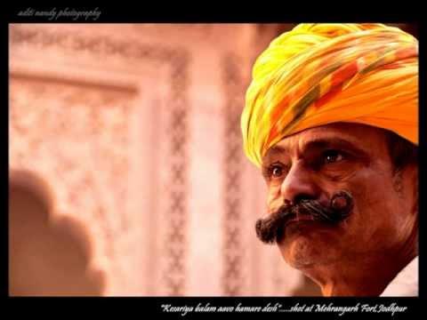 """Kesariya Baalam Aavo Ni from the album: Dicover India-Rajasthan """"HQ"""" """"HD"""" Singer:"""