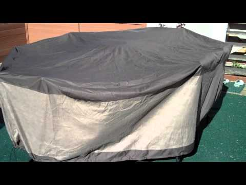 Review of Duck Covers Ultimate 109 inch Rectangle Mocha Patio Table Cover