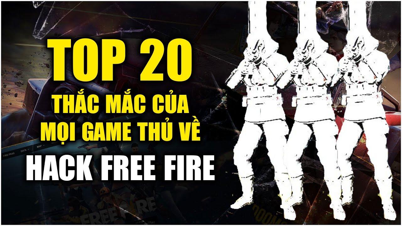 Free Fire | TOP 20 Câu Hỏi Về HACK Người Chơi Thắc Mắc Và Câu Trả Lời Từ Garena | Rikaki Gaming