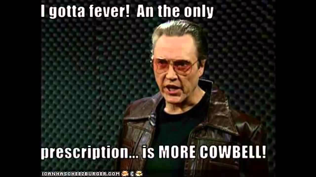we need more cowbell youtube